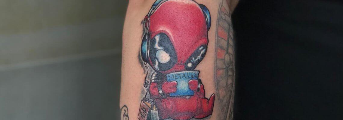 tatuaż deadpool