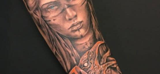 tatuaż valikiria