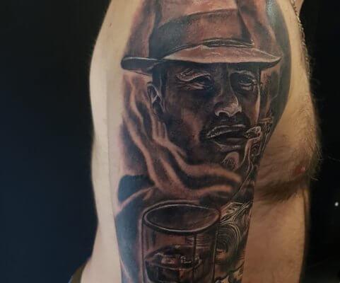 tatto gangsta