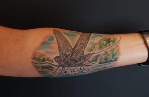 tatuaz robak