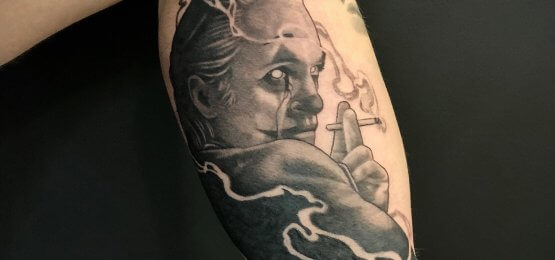 tatuaż Joker
