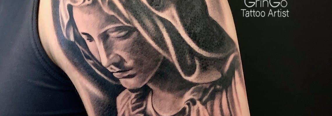 tatuaż religijny